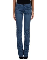 Carlo Chionna Trousers Casual Trousers Women Blue