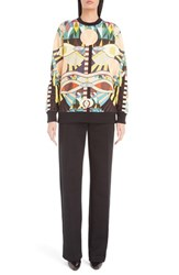 Givenchy Women's 'Crazy Cleopatra' Print Cotton Sweatshirt
