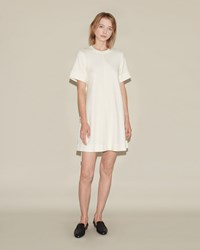 Proenza Schouler Flare Dress Off White