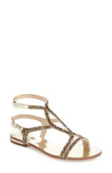 Women's Vince Camuto 'Jacinta' Ankle Strap Sandal Egyptian Gold Leather