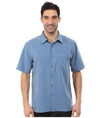 Quiksilver Waterman Centinela 4 Traditional Polynosic Woven Top Bluefin Men's Clothing Multi