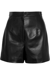 Balenciaga Leather Shorts