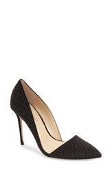 Imagine By Vince Camuto Women's Imagine Vince Camuto 'Ossie' D'orsay Pump Black Satin