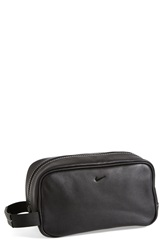 Nike Leather Travel Kit Black