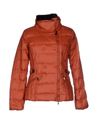 Eskey Coats And Jackets Down Jackets Women Brown