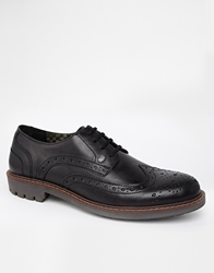 Firetrap Brogue Shoes Black