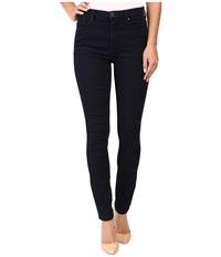 Blank Nyc Dark Blue Hi Rise Skinny In Shotgun Rider Blue Women's Jeans