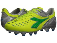 Diadora Maracana L W Yellow Fluo Lime Royal Women's Shoes