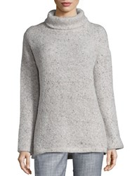 Splendid Turtleneck Knit Sweater Beige