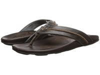Olukai Mea Ola Charcoal Dark Java Men's Sandals Brown