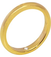 Chaumet Fidelite 18Ct Yellow Gold Secret Diamond Wedding Band