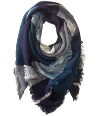 Bindya In The Clouds Scarf Blue Multi Scarves