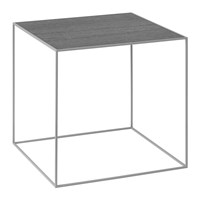 By Lassen Twin Table Black Cool Grey Medium