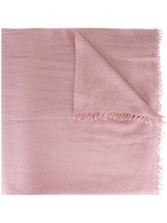 Faliero Sarti 'Dianetta' Scarf Pink And Purple