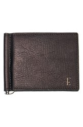 Men's Cathy's Concepts Personalized Leather Wallet And Money Clip Brown Brown E