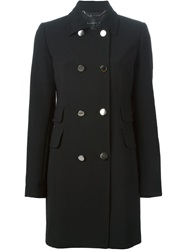 Barbara Bui Double Breasted Fitted Coat Black