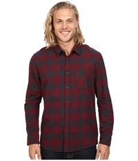 Quiksilver Motherfly Flannel Tarmac Men's Clothing Olive