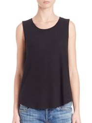 Red Haute Night Out Tank Black