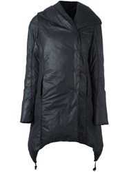Masnada Asymmetric Coat Black