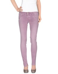 Cycle Trousers Casual Trousers Women Light Purple