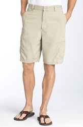 Men's Big And Tall Tommy Bahama 'Key Grip' Relaxed Fit Cargo Shorts Shoreline