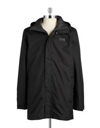 Helly Hansen Long Zip Up Parka Black