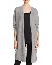Michelle By Comune Open Front Duster Cardigan Grey