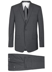 Kilgour Charcoal Wool Suit