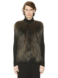 J.W.Anderson Fur And Wool Blend Turtleneck Sweater