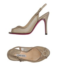Luciano Padovan Footwear Sandals Women Platinum