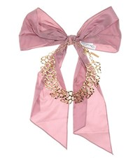 Oscar De La Renta Choker With Bow Gold