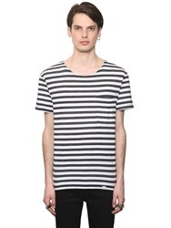 Cheap Monday Striped Cotton Jersey T Shirt