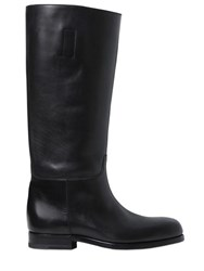 Jil Sander 20Mm Leather Boots