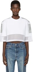 Hood By Air White Jock Boxes T Shirt