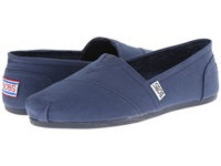 Bobs From Skechers Bobs Plush Peace Love Navy Women's Flat Shoes