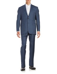 Lauren Ralph Lauren Two Piece Wool Suit Set Blue