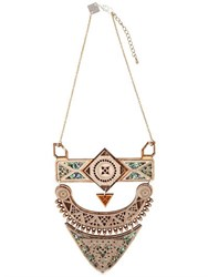Anisha Parmar London Maharaj Wooden Necklace