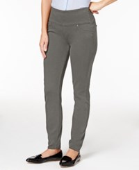 Spanx Denim Leggings Gunmetal