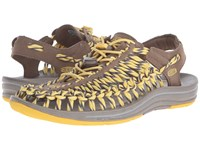 Keen Uneek Shitake Mimosa Women's Toe Open Shoes Yellow