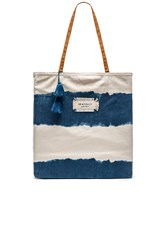 Seafolly Indian Summer Tote Blue