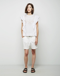 Isabel Marant Orion Shorts White