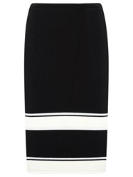 Egrey Knit Midi Skirt Black