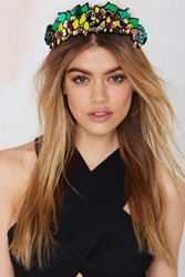 Nasty Gal I Still Love You Nyc Tropical Flower Crown