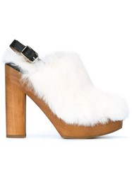 Castaner 'Zula' Clogs White