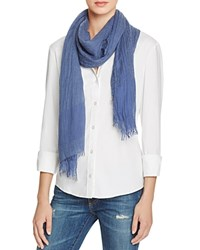 Fraas Lightweight Solid Scarf Denim