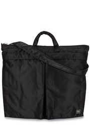 Porter Black Nylon Shoulder Bag