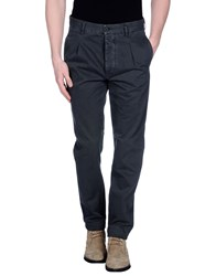Met And Friends Trousers Casual Trousers Men Steel Grey