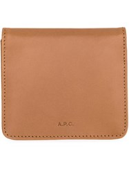 A.P.C. Square Wallet Brown