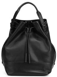 Opening Ceremony Bucket Backpack Black