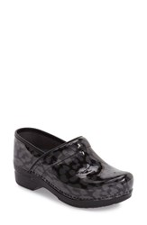 Dansko Women's 'Pro Xp' Patent Leather Clog Leopard Patent Leather